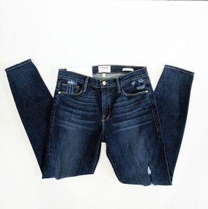 NWT FRAME Le Skinny de Jeanne in Wriley Jeans 30